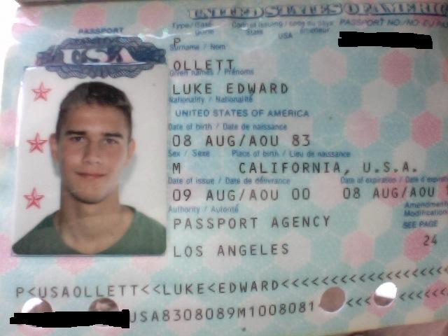 фото паспорта основная страница